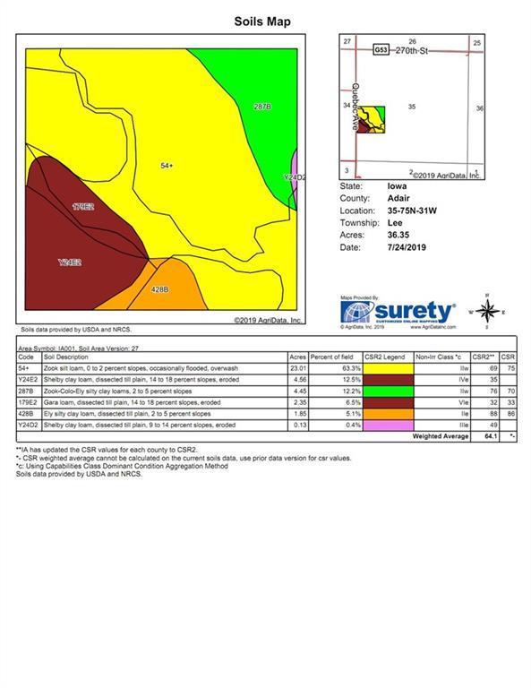 40 Acres M/l Quebec Ave, Orient Property Listing: MLS® #588017
