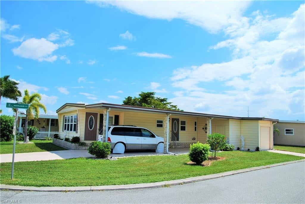 504 Crampton Ln North Fort Myers Fl In Six Lakes Country