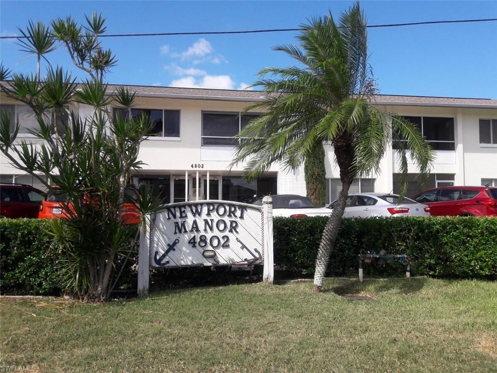 NEWPORT MANORS CONDO Home for Sale - View SW FL MLS #219066326 at 4802 Tudor Dr # 205 in  in CAPE CORAL, FL - 33904