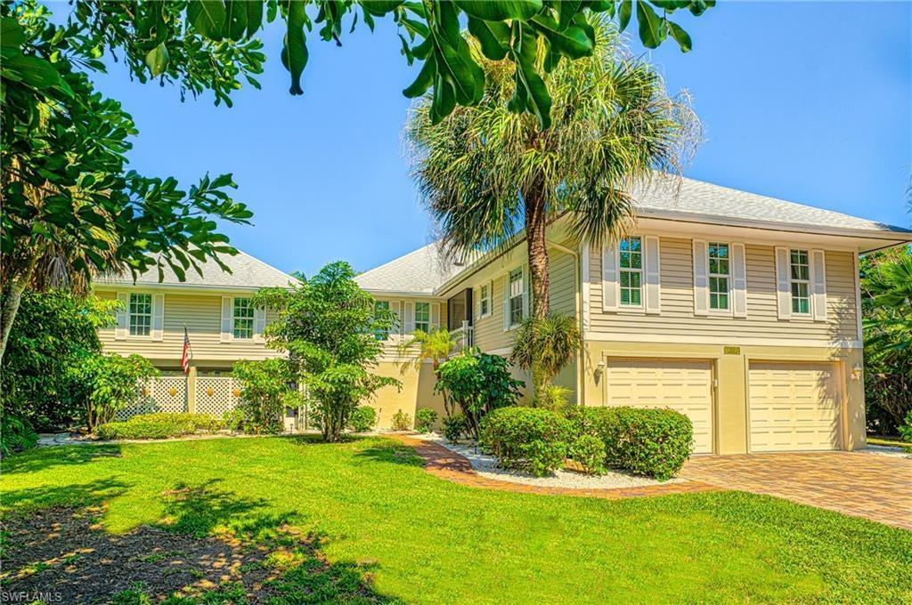 SANIBEL Real Estate - View SW FL MLS #219047465 at 1031 Sand Castle Rd in DUNES AT SANIBEL ISLAND at DUNES AT SANIBEL ISLAND