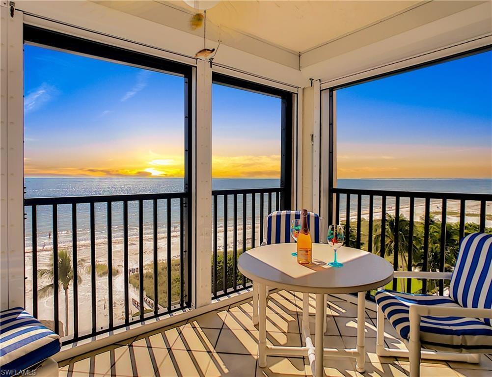 FORT MYERS BEACH Real Estate - View SW FL MLS #219073741 at 2800 Estero Blvd 805 in CAPER BEACH CLUB at CAPER BEACH CLUB