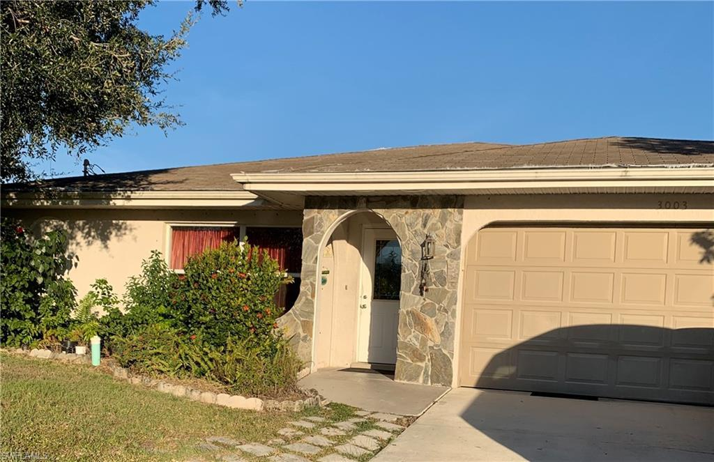 CAPE CORAL Real Estate - View SW FL MLS #219078245 at 3003 Sw 4th Ave in CAPE CORAL in CAPE CORAL, FL - 33914