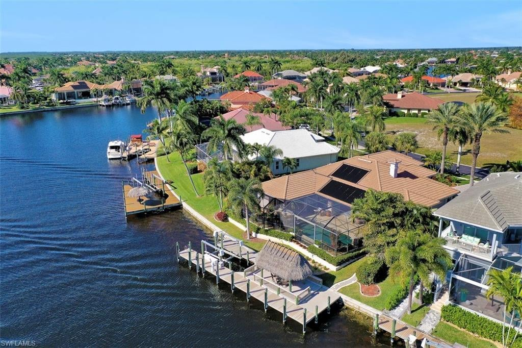 CAPE CORAL Real Estate - View SW FL MLS #220005897 at 1905 Harbour Cir in CAPE HARBOUR at CAPE HARBOUR