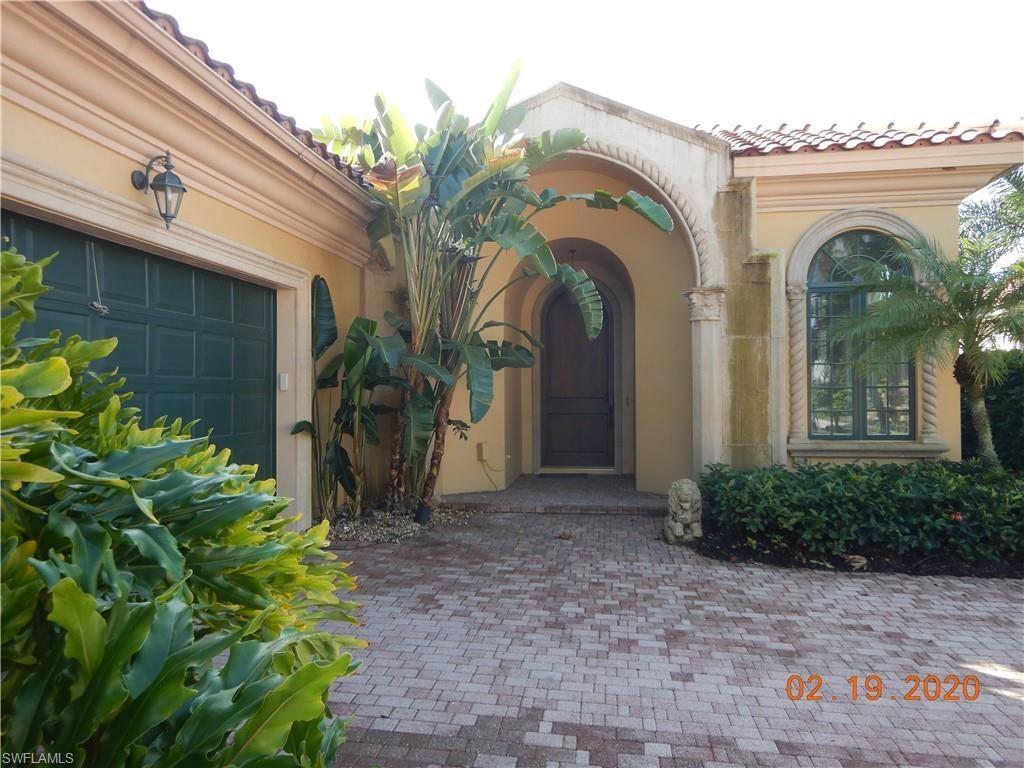 GREY OAKS Real Estate - View SW FL MLS #220019466 at 2690 Firebush Ln in AVILA in NAPLES, FL - 34105