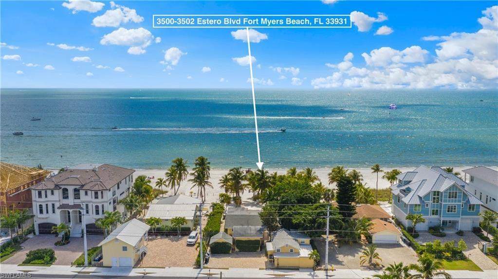 SW Florida Home for Sale - View SW FL MLS Listing #220019503 at 3500-3502 Estero Blvd in FORT MYERS BEACH, FL - 33931